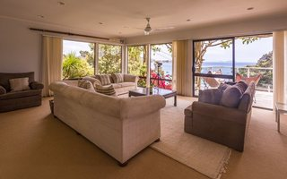 Lounge over looking Sandy Bay