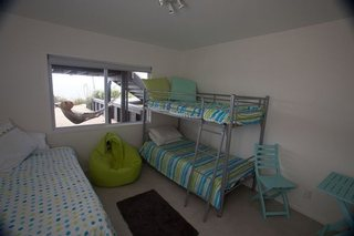 4th bedroom of Oneroa holiday house Waiheke island